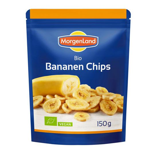 Bananenchips - bio, 150g