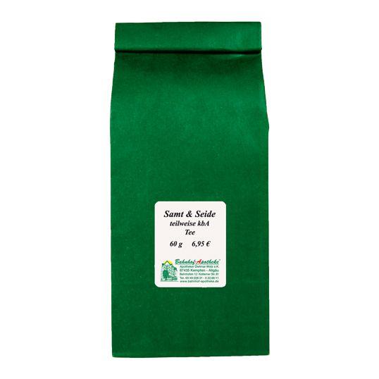 Samt & Seide Tee teilweise kbA, 60g