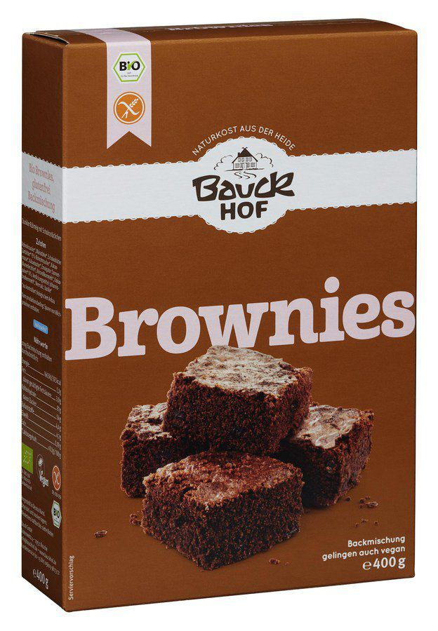 Brownies glutenfrei Backmischung - bio, 400g