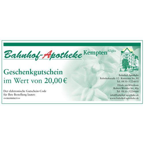 Apotheke-Online-De Gutschein