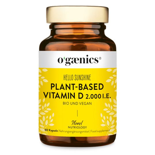 Hello Sunshine plant-based Vitamin D, 30St.