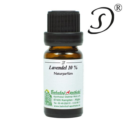 Lavendel 10% in Jojobaöl, 10ml