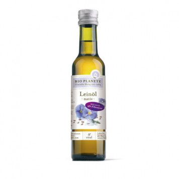Leinöl nativ - bio, 250ml