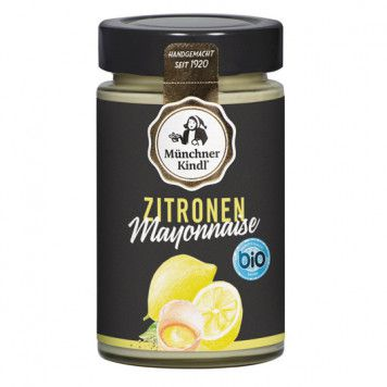 Zitronen Mayonnaise bio, 200ml