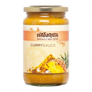 Curry Sauce indisch - bio, 350ml