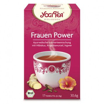 Yogi Tee Frauen Power bio, 17 St.