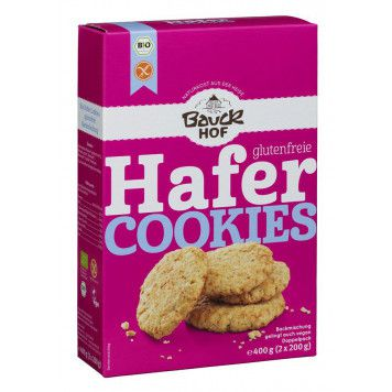Hafer Cookies glutenfrei Backmischung - bio, 400g