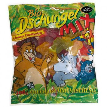 Dschungel-Mix fair - bio, 100g