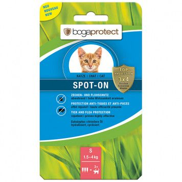 Bogaprotect Spot-on Katze S