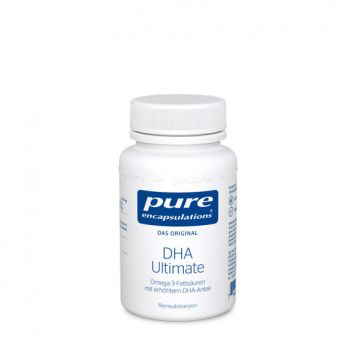 pure encapsulations DHA Ultimate Kapseln, 60St