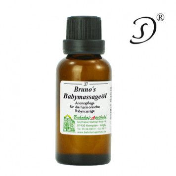 Brunos Babymassageöl, 30ml