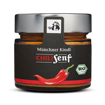 Chili Senf - bio, 180ml