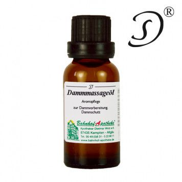 Dammmassageöl, 20ml