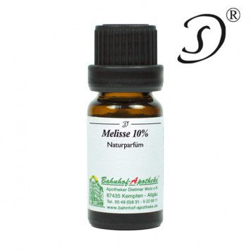 Melisse, 10% in Jojobawachs, 10ml