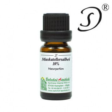 Muskatellersalbei 10% in Jojoba, 10ml