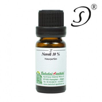 Neroli, 10% in Jojobawachs, 10ml
